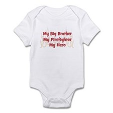My Big Brother My Firefighter Infant Bodysuit