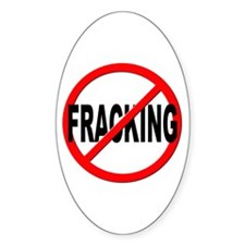 Anti / No Fracking Decal