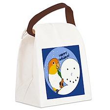 snowman_wbcaique Canvas Lunch Bag