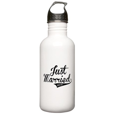 Just Married 2014 Stainless Water Bottle 1.0L