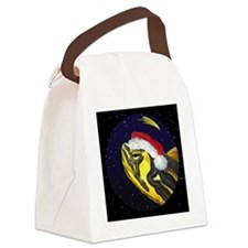 christmasnight_yellowbelliedslide Canvas Lunch Bag