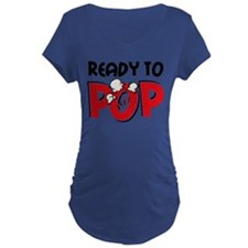 Ready To Pop Dark Maternity T-Shirt