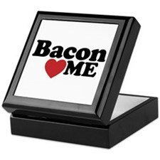 Bacon Loves ME Keepsake Box
