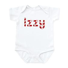 Izzy - Candy Cane Infant Bodysuit