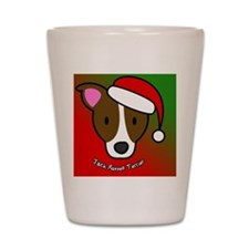 anime_jackrussell_ornament Shot Glass