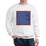 Cloth Diaper Instructions for Dads Sweatshirt