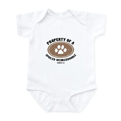 Weimardoodle dog Infant Bodysuit