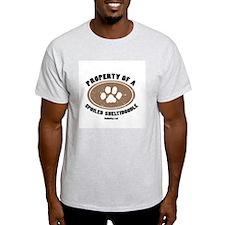 Sheltidoodle dog Ash Grey T-Shirt