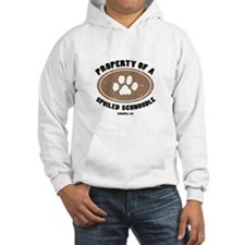 Schnoodle dog Hoodie