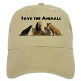 Save the Animals Baseball Cap