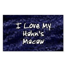 hahnsmacaw_funklove_oval Decal