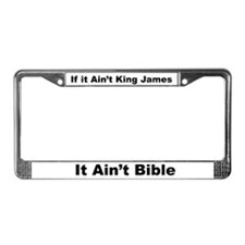 King James License Frame