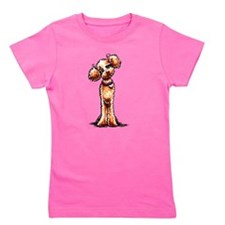 Apricot Poodle Girly Girl's Tee
