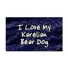 karelian_funklove_oval Rectangle Car Magnet