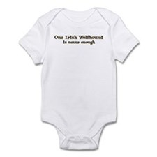 One Irish Wolfhound Infant Bodysuit