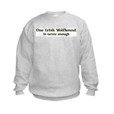 One Irish Wolfhound Sweatshirt