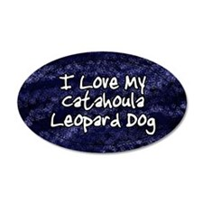 funklove_oval_catahoula Wall Decal