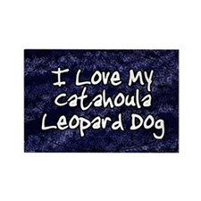 funklove_oval_catahoula Rectangle Magnet
