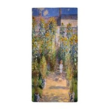 Artists Garden Beach Towel