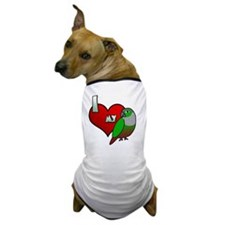iheartmy_greencheekedconure Dog T-Shirt