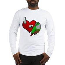 iheartmy_greencheekedconure Long Sleeve T-Shirt