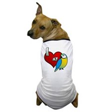 iheartmy_blueandgold Dog T-Shirt