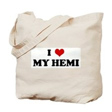 I Love MY HEMI Tote Bag