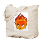 Fire Baby Tote Bag
