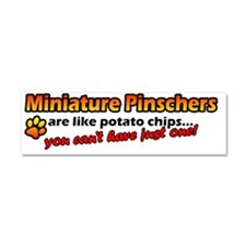 minpin_potatochips Car Magnet 10 x 3
