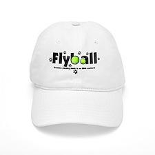 flyball_20thcentury_blackcap Baseball Cap
