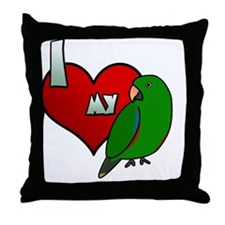 iheartmy_si_male_blk Throw Pillow