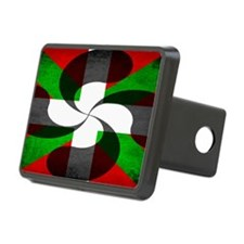 Basque Flag and Cross Hitch Cover