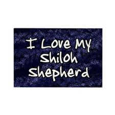 funklove_oval_shiloh Rectangle Magnet