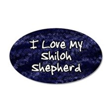 funklove_oval_shiloh Wall Decal