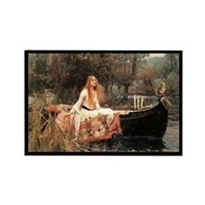 """The Lady of Shalott"" Rectangle Magnet"