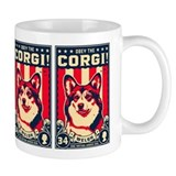 Obey the CORGI! USA Freedom Mug