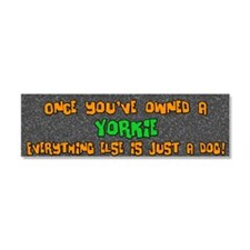 yorkie_everythingelse Car Magnet 10 x 3