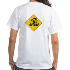 "White ""Go Deep Sign"" T-Shirt"