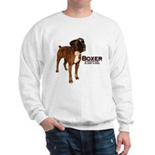 everything boxer.PNG Sweatshirt