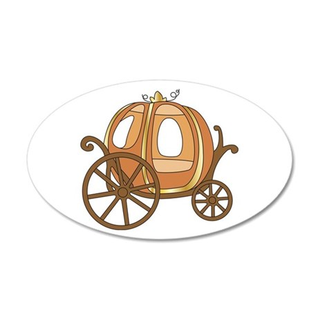 Pumpkin Carriage Wall Decal