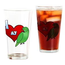 iheartmy_IRN Drinking Glass