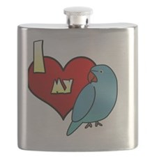 iheartmy_IRNblue_hen Flask