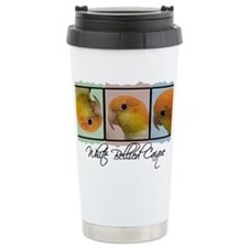 colorrow_whitebelly Ceramic Travel Mug