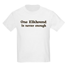 One Elkhound Kids T-Shirt