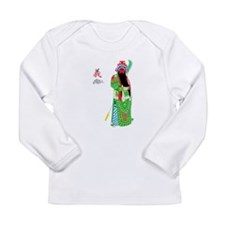 Peking Opera Guanyu - Baby Long Sleeve Shirt