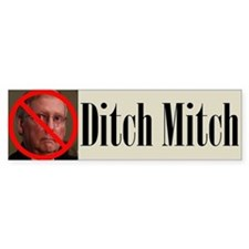 Ditch Mitch Bumper Sticker - No Mitch