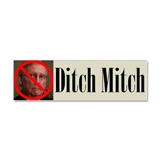 Ditch Mitch Car Magnet - No Mitch