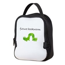 future bookworm.bmp Neoprene Lunch Bag