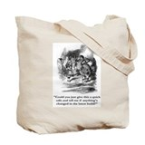 Tote Bag: Alice in edit land / TECHWRITER