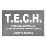 Sticker: TECH